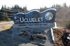 Welcome sign in Ucluelet